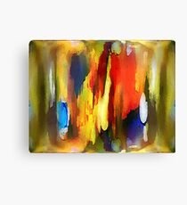 Abstraktes in Farbe Canvas Print