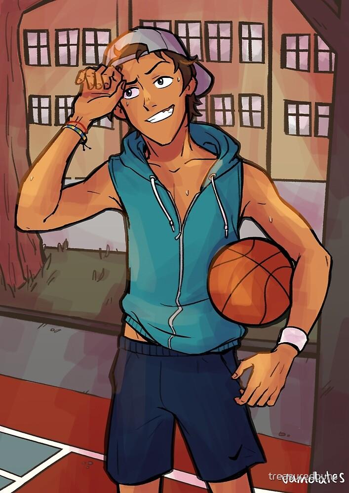 Basketball Boi by treasuredbuns