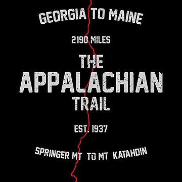 The Appalachian Trail Thru-Hike design by EstelleStar