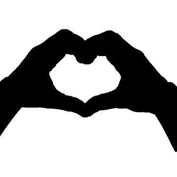 heart hands  love by thnatha