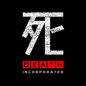 Death Incorporated (Japanese, Red) by widmore