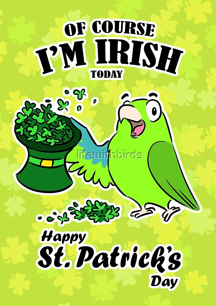 St. Patrick's day parrot by lifewithbirds