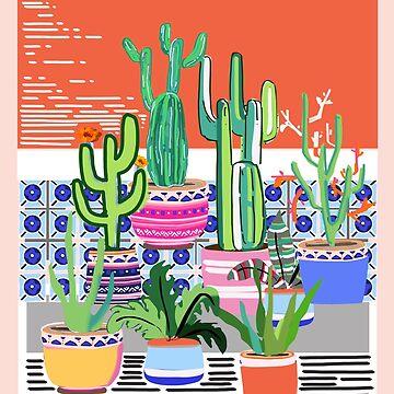 Cactus Window by muktalata-barua