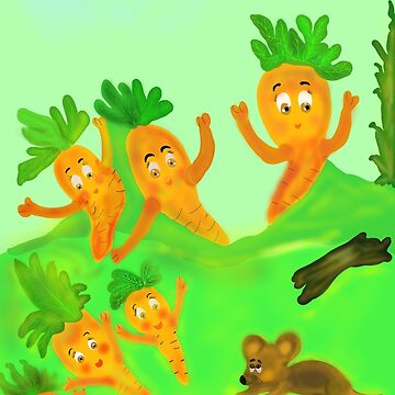 The carrots by Solfloy