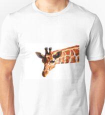 Curious African animal giraffe Unisex T-Shirt
