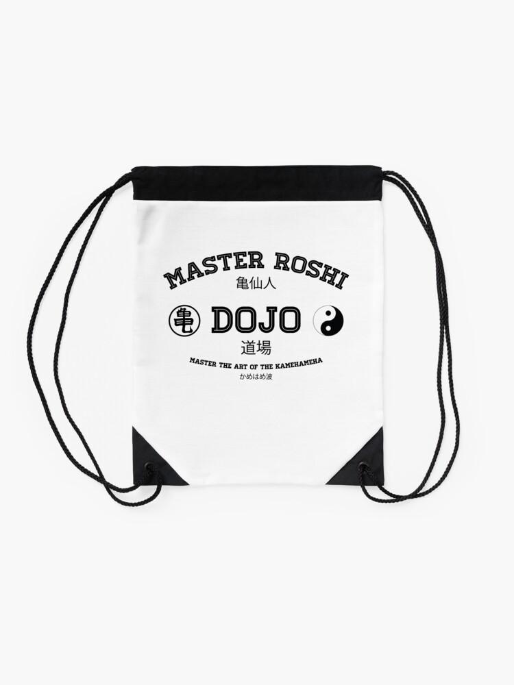 Alternate view of Master Roshi Dojo v1 Drawstring Bag