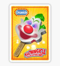 Killer Klown Popsicle Sticker