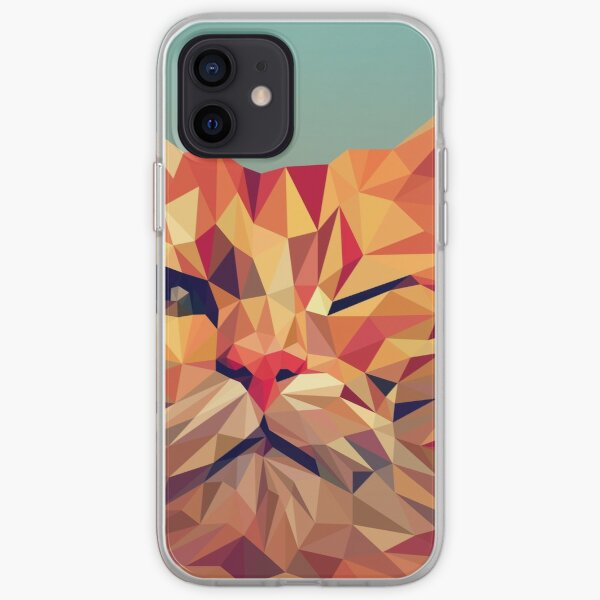 wink wink kitty cat iPhone Soft Case