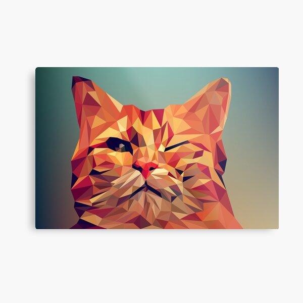 wink wink kitty cat Metal Print