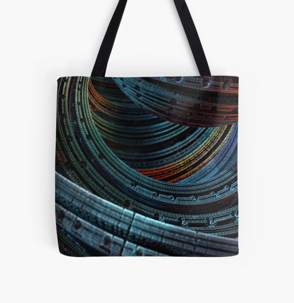 Annuli All Over Print Tote Bag