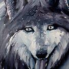Wolf by Pablo Lavaniegos Ramírez