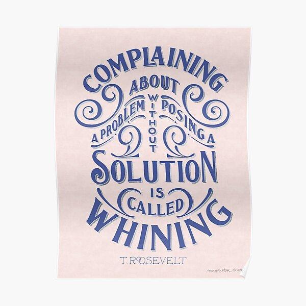 Complains Poster