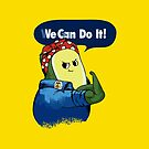 Vegan do It Avocado by Huebucket