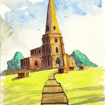 The Church on the Hill by WaterGardens