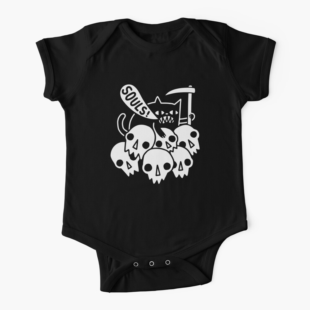 Cat Got Your Soul? Baby One-Piece