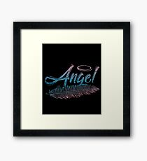 Angel halo Framed Print