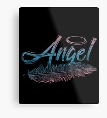 Angel halo Metal Print
