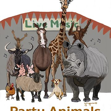 Party Animals by Gmagennis