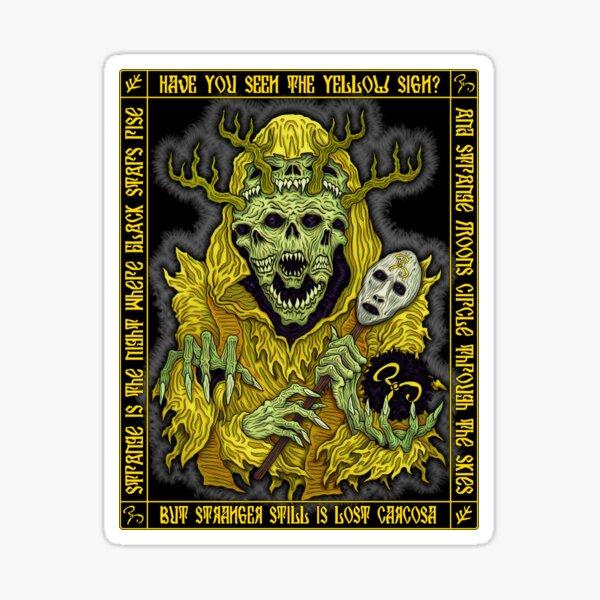 Yellow King Icon - Azhmodai 2018 Sticker