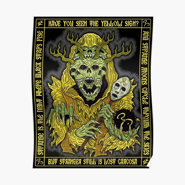 Yellow King Icon - Azhmodai 2018 Poster