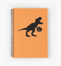 Toddler dinosaur halloween Spiral Notebook