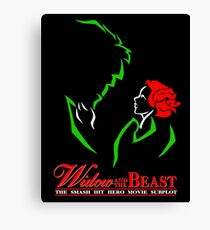Widow and the Beast Canvas Print