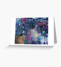 Colorful Dreams Greeting Card