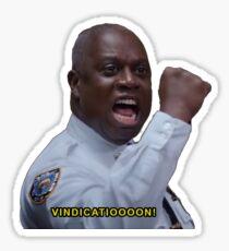 brooklyn nine-nine vindication Sticker