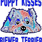 Puppy Kisses Biewer Terrier Terriers Puppies Dog Dogs Jackie Carpenter Art Gift's Mom Gift Idea's Best Seller Pet Owner Lover Rescue by Jackie Carpenter