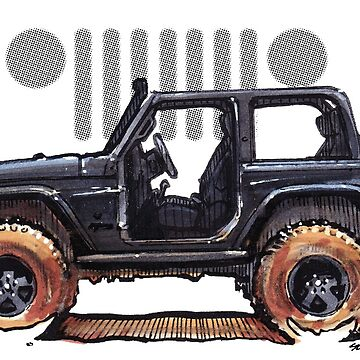 JK Wrangler Topless 2dr - Stealth by robert1117