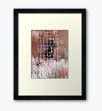 Rusty Sky Framed Print