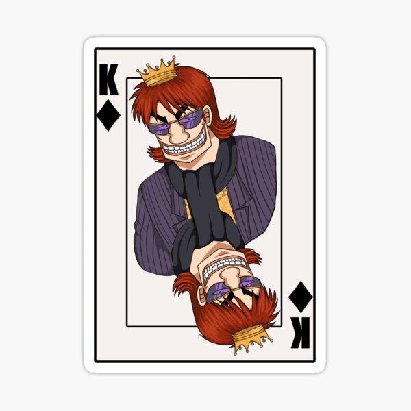 Kazuya the King of Diamonds Sticker
