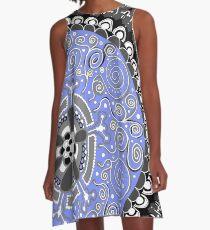 Mandala 1 A-Line Dress