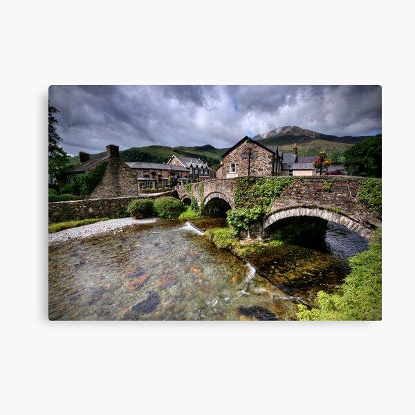 Wales: Beddgelert Canvas Print