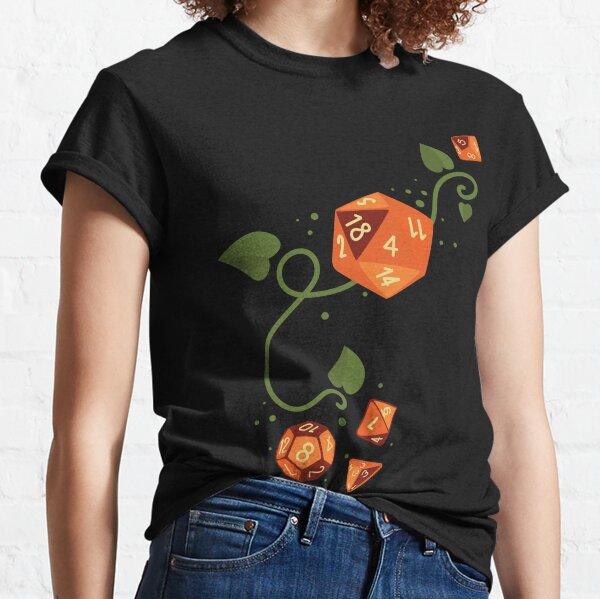 Polyhedral Dice (Pumpkin Patch) Classic T-Shirt