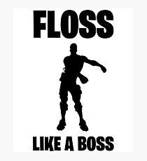 Floss Like A Boss Dance Emote Celebration Fortnite Photographic Print