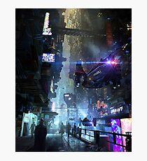 Night City Photographic Print
