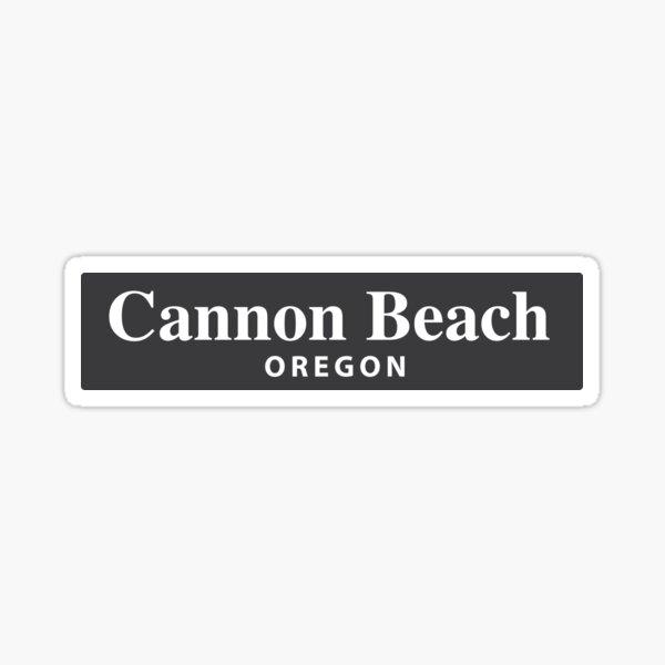 Cannon Beach, Oregon Sticker