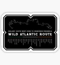 Ireland - Wild Atlantic Route 2018 Sticker