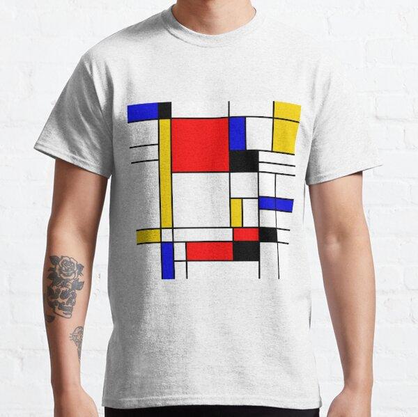 Bauhouse Mondrian Style Classic T-Shirt