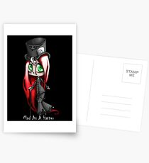 Mad As A Hatter Postcards