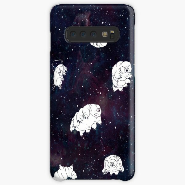 tardigrades in space pattern Samsung Galaxy Snap Case