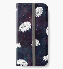 tardigrades in space pattern iPhone Wallet/Case/Skin