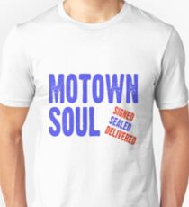 Motown Soul Signed Sealed Delivered Unisex T-Shirt