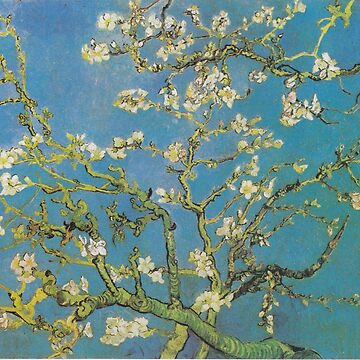 Blossoming Almond Tree by Vincent Van Gogh by przezajac