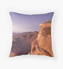 Mt. Sinai Summit of Egypt Throw Pillow