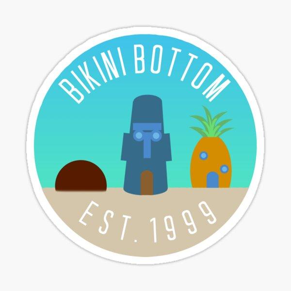 Bikini Bottom Sticker
