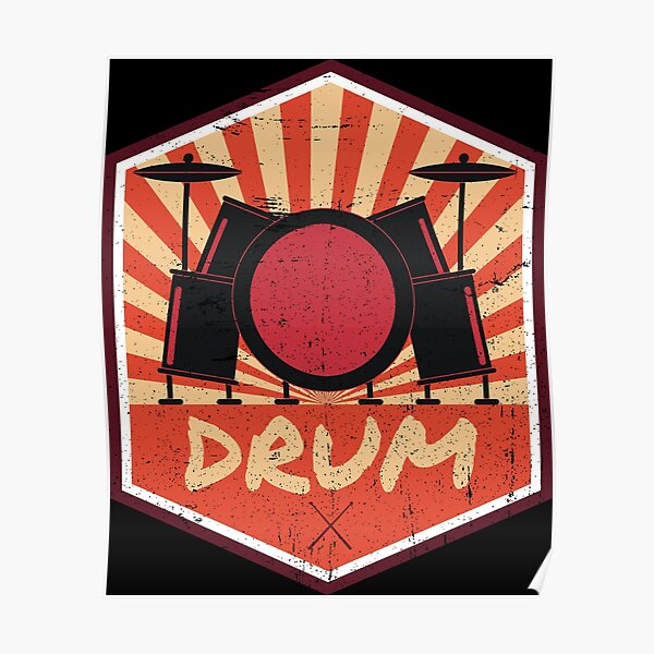 Drums propaganda Poster