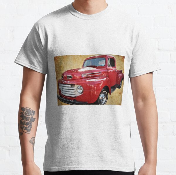 1949 Red Ford F1 Pickup Truck Classic T-Shirt