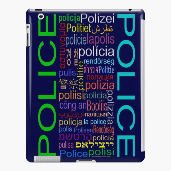 Police iPad Snap Case